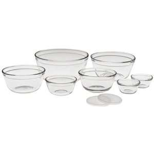 Anchor Hocking 9 Piece Mixing Bowl Set