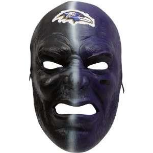 NFL Baltimore Ravens Purple Black Fan Face Mask