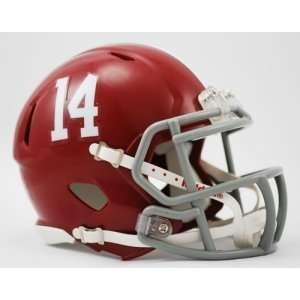 Alabama Crimson Tide Speed Mini Helmet Sports Collectibles