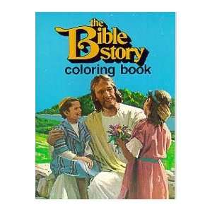 Bible Story Coloring Book (9780828011587) Books