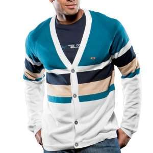 Oakley Button Cardigan Sweater (For Men)   ASTRAL BLUE