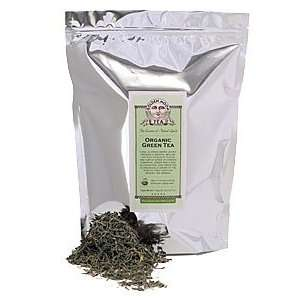 Golden Moon   Organic Green Tea   1lb Grocery & Gourmet Food