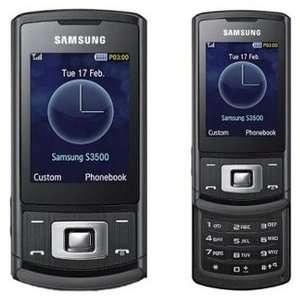 S3500 GSM Quadband Phone (Unlocked) Black Cell Phones & Accessories