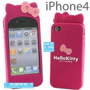NEW Peach Hello Kitty Silicon Case Cover Skin Bag