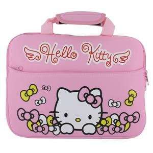 Hello Kitty Shockproof Elastic Bag Case for 10 Laptop Notebook