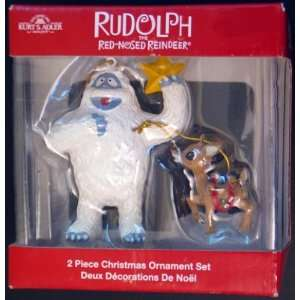 with Bumble 2 Pc Christmas Ornament Set