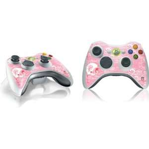 Pink Vinyl Skin for 1 Microsof Xbox 360 Wireless Conroller