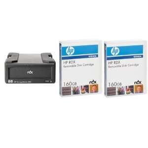 HP RDX® (160 GB) External USB System (Includes 2 Cartridges & Dock