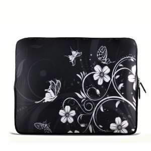 butterfly and flowers 9.7 10 10.1 10.2 inch Laptop Netbook Tablet