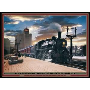 The Canadian Pacific Jigsaw Puzzle 1000pc Toys & Games