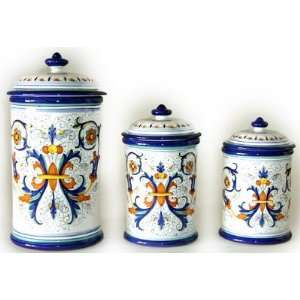 italian style canister sets on popscreen tuscan style canisters handcrafted tuscan canisters