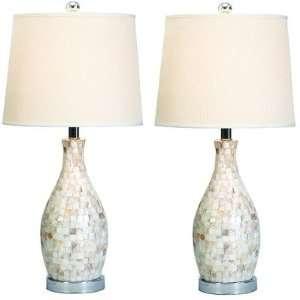 Lorette Shell Table Lamp (Set of 2)