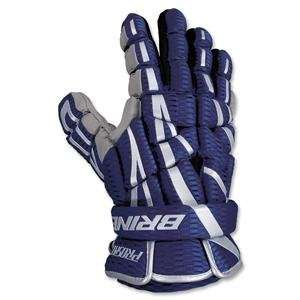 Brine Prospect Lacrosse Gloves 13 (Navy): Sports