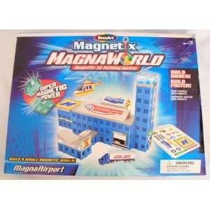 Magnaworld Magna Airport Magnetix 3d Building System