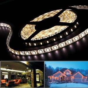 Flexible 300 SMD LED Strip Rope Light 16.4 5 Meters Warm