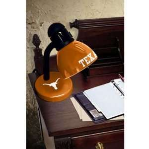 Texas Longhorns Orange Desk Lamp