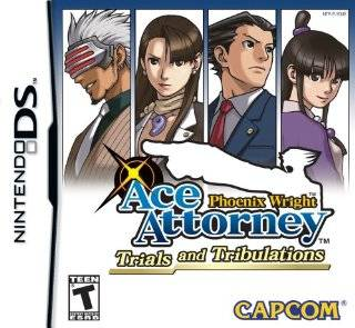 12. Phoenix Wright Ace Attorney Trials and Tribulations by Capcom