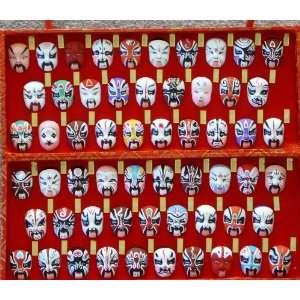 Chinese Opera Masks The Three Kingdoms 58 Characters