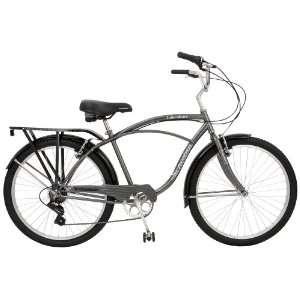 Schwinn Lakeshore Mens Cruiser Bike (26 Inch Wheels