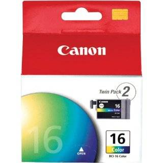 Canon BCI 15 Black Ink Cartridge (Twin Pack) Electronics