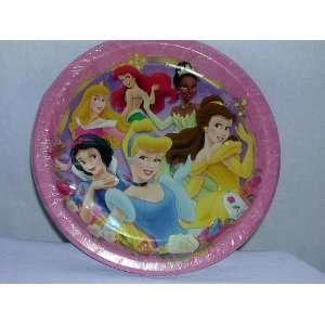 Disney Princess Paper Plates Toys & Games