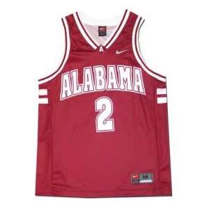 Nike Alabama Crimson Tide #2 Crimson Replica Basketball