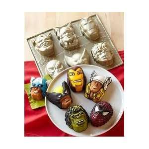 Iron Man Captain America Hulk Thor Spider Man Avengers by Nordic Ware