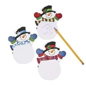 Snowman Notepads   24 per unit Toys & Games