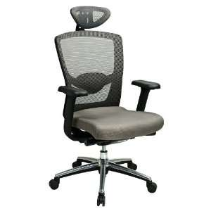Office Star Gray Pro Grid Executive Office Desk Chairs