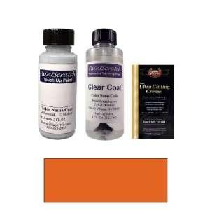 2 Oz. Medium Orange Metallic Paint Bottle Kit for 1989 GMC