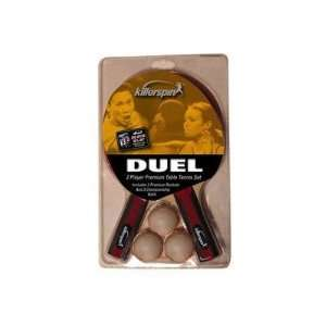 Killerspin Duel 2 pack Table Tennis Racket Set Sports