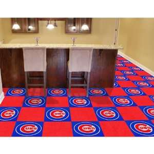 Chicago Cubs MLB Team Logo Carpet Tiles
