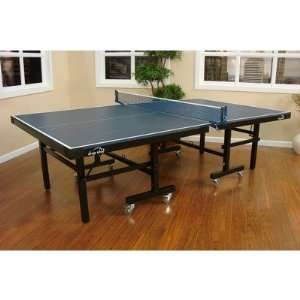 Drop Shot Professional Ping Pong Table with Accessory Kit