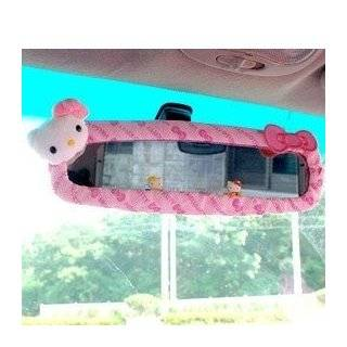 Sanrio Hello Kitty Car Rear View Mirror Cover pink