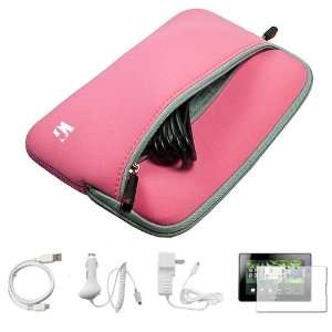 Baby Pink SumacLife Neoprene Protective Sleeve Carrying Case