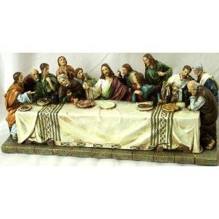 Last Supper Table Top Decoration Holy Religious Figurine House Decor