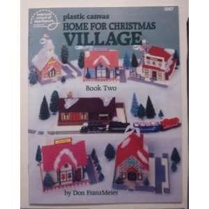 Village (Book Two) (Plastic Canvas) (Craft Book) Don Franmeier Books
