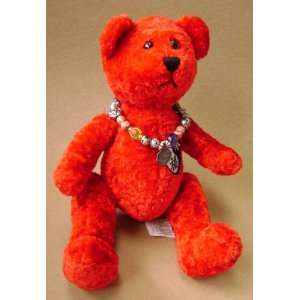 Foo Forever Red Yin Yang Teddy Bear Stuffed Animal Plush