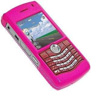 Polish Pink Snap On Crystal Hard Case For Blackberry 8130