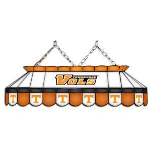 Vols NCAA MVP Stained Glass Pool Table Light