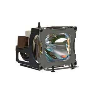 Panasonic ET LAD55 replacement projector lamp bulb with housing   high