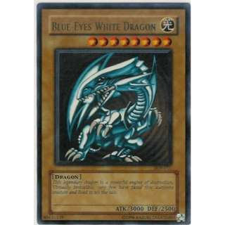 Blue eyes White Dragon Ultra Rare Holofoil Card [Toy] Toys & Games