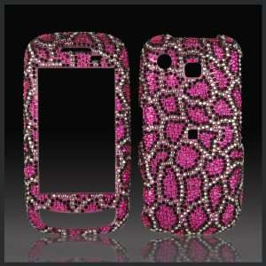 Leopard Cheetah Cristalina crystal bling rhinestone diamond case