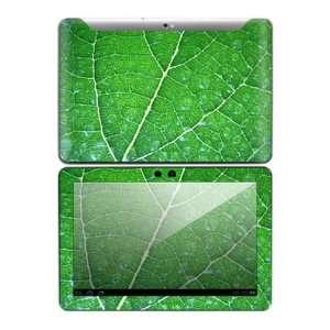 Samsung Galaxy Tab 10.1 Decal Skin   Green Leaf Texture