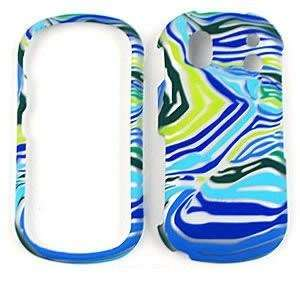 SNAP ON FACEPLATE CASE CELL PHONE COVER FOR SAMSUNG INTENSITY 2 (U460