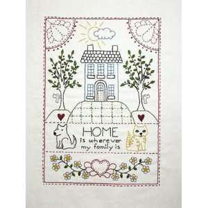 Home Sampler   Embroidery Pattern: Arts, Crafts & Sewing