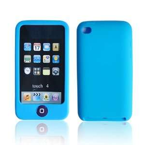 Chocolate Silicone Case Cover for Apple iPod Touch 4 Light