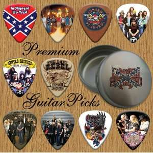 Skynyrd Premium Guitar Picks X 10 In Tin (T) Musical Instruments