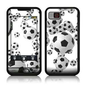 Lots of Soccer Balls Design Protective Skin Decal Sticker for Samsung