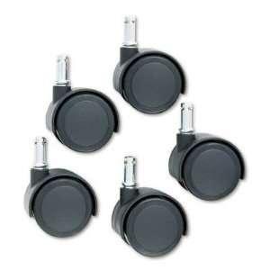 Diameter Dual Wheels, C Stem, Soft Tread, Matte Black, 5/Set MAS65526